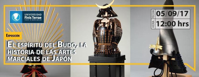 """Exposición  """"El espíritu del Budo, la historia de las artes marciales de Japón"""""""