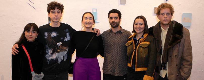 """Exposición """"Yuxtapuestos"""" reúne a artistas visuales de la Universidad Finis Terrae"""