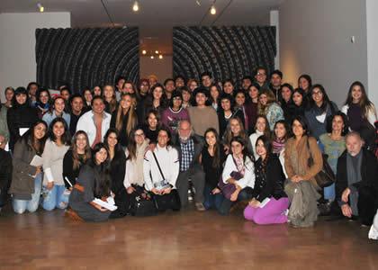 Federico Assler realiza Clase Magistral para alumnos de la Escuela de Diseño