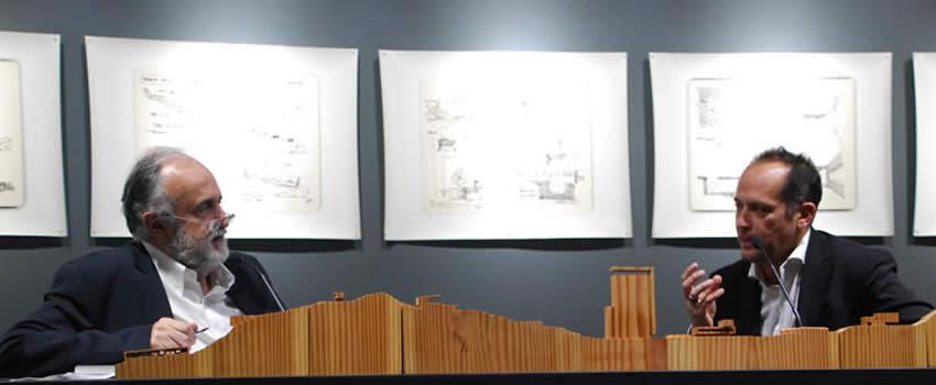 Felipe Assadi inaugura muestra arquitectónica en Cátedra siglo XXI