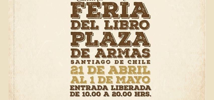 Ediciones Finis Terrae en Feria del libro Plaza de Armas 2017