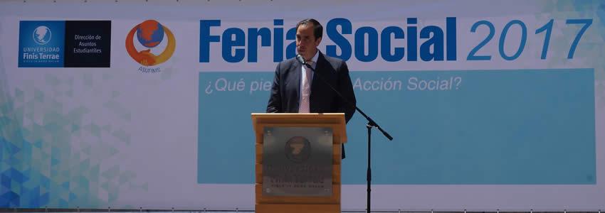 Se cumplió el primer lustro de la Feria Social.