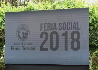 Cinco organizaciones sociales de la U. Finis Terrae participaron en la Feria Social 2018