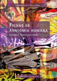 Fichas de anatomía humana. Ejercicios y láminas para rotular
