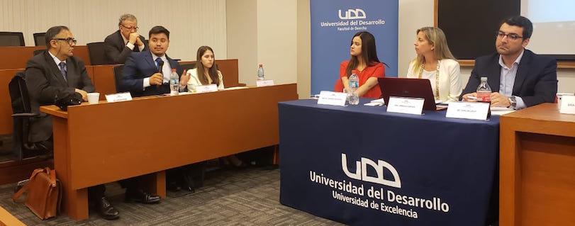 """Estudiantes en Coloquios de Derecho Internacional: """"Fue un orgullo representar a la Universidad"""""""