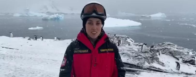 Dra. Rocío Gutiérrez: la egresada de la Escuela de Medicina que destaca en la Antártica