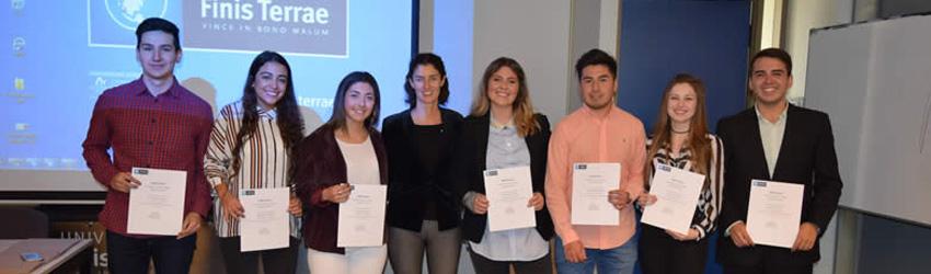 Ingeniería Comercial realizó la Medición Intermedia de Competencias a alumnos de quinto semestre