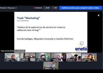 Equipo Investigador de la Escuela de Ingeniería Comercial obtuvo 1° lugar en Encuentro Nacional de Escuelas y Facultades de Administración de Chile