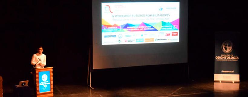 """Facultad de Odontología de la U. Finis Terrae fue sede del IV Workshop """"Futuros Rehabilitadores"""""""