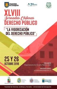 Profesores Angélica Benavides y Enrique Navarro exponen en las XLVIII Jornadas Chilenas de Derecho Público