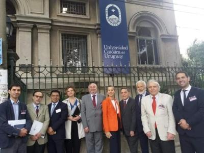 Profesores María Angélica Benavides y Enrique Navarro exponen en las Jornadas Sudamericanas de Derecho Constitucional