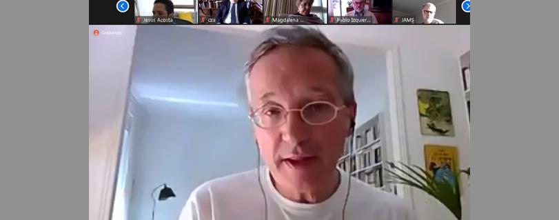"""José María Lasalle: """"Estamos en una encrucijada histórica si la tecnología nos ayuda a ser mejores o sentando las bases para una servidumbre digital"""""""