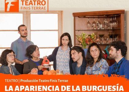 """Protagonizada por Camila Hirane y con música de Fernando Milagros, Teatro Finis Terrae estrena """"La apariencia de la burguesía"""""""