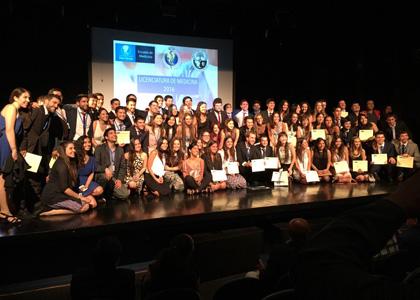 Escuela de Medicina realizó Ceremonia de Licenciatura