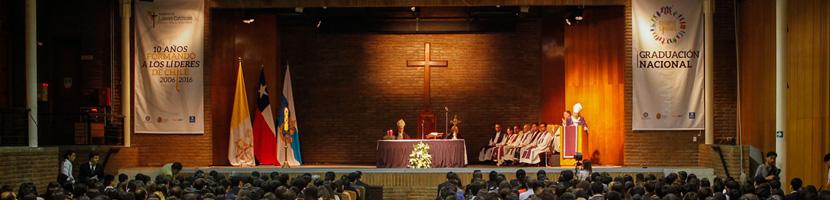 500 jóvenes se gradúan en la Academia de Líderes Católicos