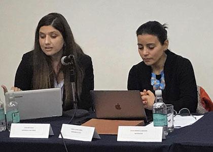 Académica de Derecho expone en la cuarta versión de las Jornadas Nacionales de Derecho de Familia en Antofagasta.