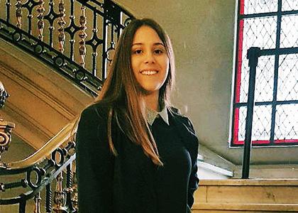 """María Antonieta Díaz tras pasantía en Tribunal Constitucional: """"Fue una experiencia enriquecedora"""