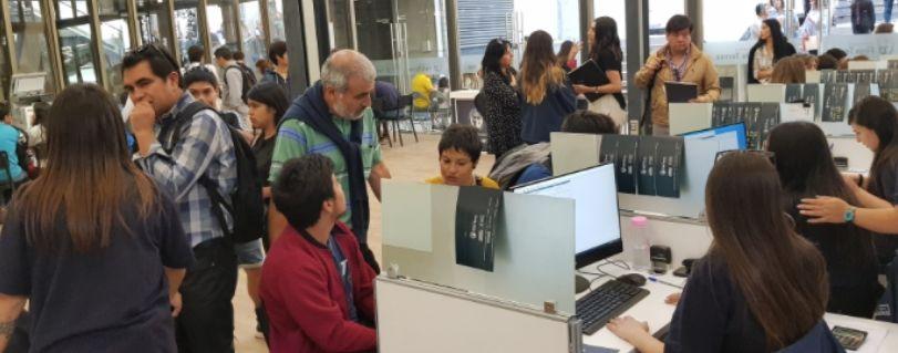 Universidad Finis Terrae estrena primera etapa del  proceso de matrícula online