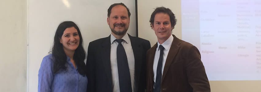 Profesor Mauricio Echeverría Galvez visita la U. Finis Terrae