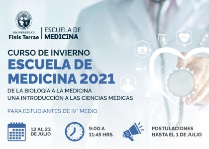 Escuela de Medicina lanzó nueva edición de su Curso de Invierno