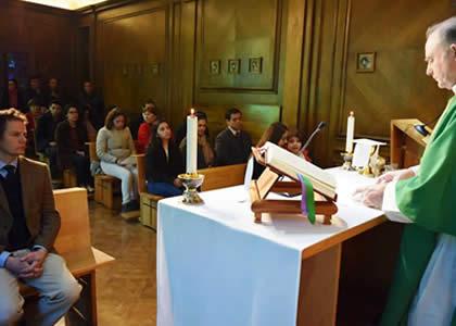 Pastoral realizó una misa a la chilena en Fiestas Patrias