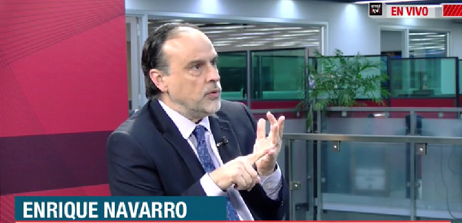 EmolTV   Académico Enrique Navarro  analizó la propuesta de reformar la carta fundamental, surgida a propósito del estallido social que vive el país.