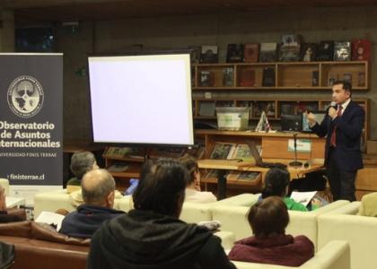 Conversatorio del Observatorio de Asuntos Internacionales abordó el rol de Turquía en el Medio Oriente