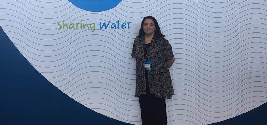 Docente investigadora de la Facultad de Derecho participa en 8° Foro Mundial del Agua realizado en Brasilia