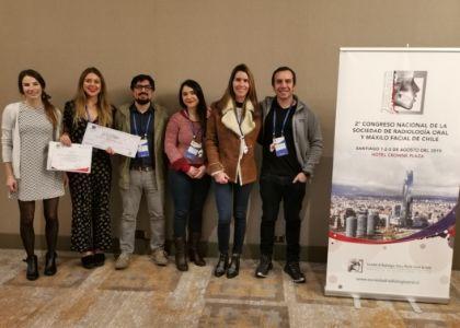 Estudiante del programa de Imagenología Oral y Maxilofacial obtuvo 1° en pósters en el II Congreso de la Sociedad Radiología Oral y Maxilofacial de Chile
