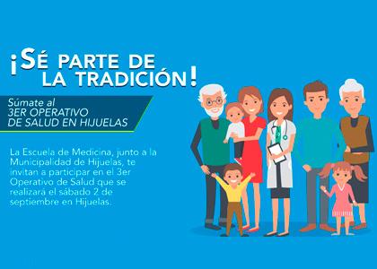 Escuela de Medicina realizará operativo de salud médico ruralen Hijuelas