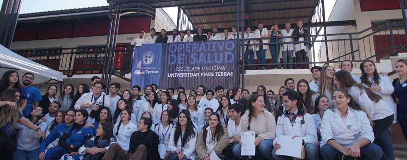 Universidad Finis Terrae realizó su 6° Operativo de Salud en la comuna de Cabildo