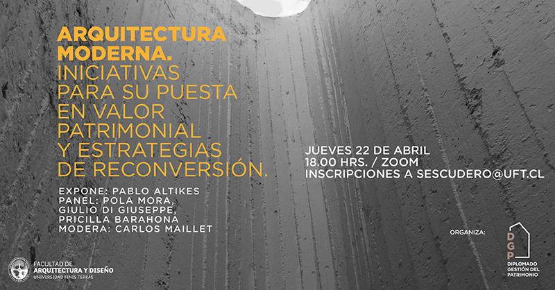 Educación Continua FAD organiza panel sobre Arquitectura Moderna y Patrimonio