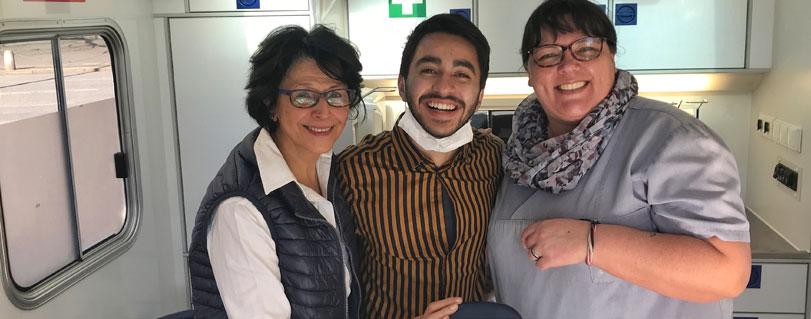 Aprendizaje y compromiso social: la valiosa experiencia de estudiante de Odontología Finis Terrae en Alemania