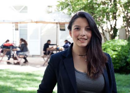 """Exitosa pasantía de estudiante de la Finis en la Suprema: """"Me sentí muy preparada para enfrentar el desafío"""""""