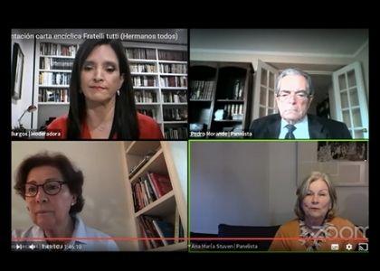 """""""Fratelli Tutti"""": Expertos universitarios chilenos llaman a valorar los mensajes de la nueva encíclica del Papa Francisco para la actualidad"""