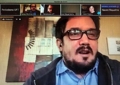 Cómo reconocer una fake news y el peligro de la desinformación fue lo que abordó periodista egresado la U. Finis Terrae