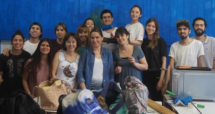 Alumnos de V año de Odontología finalizan programa Vinculación con el Medio con Pintatón
