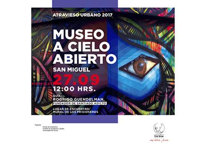 Atravieso Urbano en Museo a Cielo Abierto en San Miguel