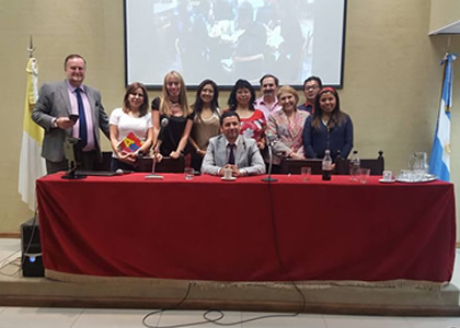 Profesor J. Ignacio Núñez imparte taller en programa de Doctorado en Argentina