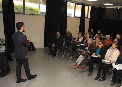 Clínica Jurídica Penal de la Facultad de Derecho se reunió con representantes de más de 30 juntas vecinales en la comuna de Vitacura