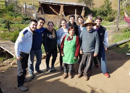 Asufinis realizó trabajos de invierno en la comuna de Canela