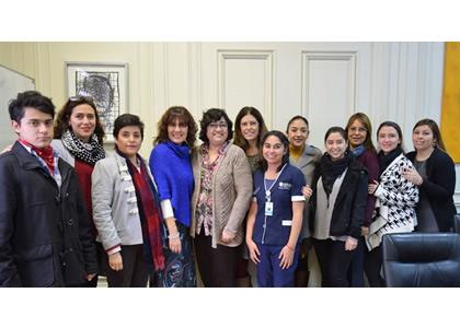 Coordinadora de Postítulo y Postgrado de la Escuela de Enfermería es designada miembro del Directorio del Consejo Internacional de Enfermeras