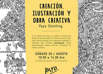 Diseño realizará Taller de ilustración