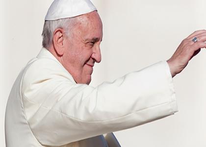 """""""Mi paz les doy"""" el lema del Papa Francisco en Chile"""