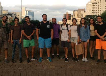 Alumnos de Taller VIII viajaron a Brasil