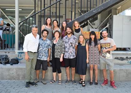 Alumnos de Arte realizan exposición en la Facultad
