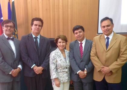 Director de Postgrados participa en Seminario en la U. de Atacama