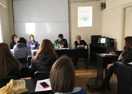 Docentes de la Escuela de Literatura participaron en la conferencia LASA Cono Sur 2017