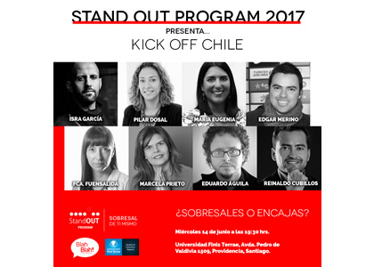 """Stand OUT Program"" llega a Chile con Educación Profesional Disruptiva"