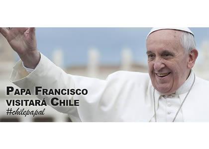 Chile recibirá al Papa Francisco